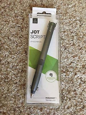 Adonit Jot Script Stylus Pen For Ios Evernote Edition Gray Pixelpoint Technology