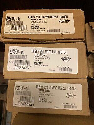 Husky 6250431-4 New V34 Vacuum Assist Vapor Unleaded Nozzle With 1-notch Hold O