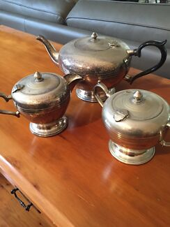 Silver tea set New Lambton Newcastle Area Preview