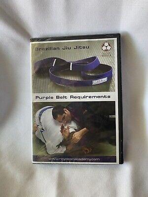 Brazilian Jiu Jitsu Purple Belt Dvd Poly Dean