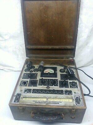 Vintage Tube Tester Series 910 Dynamic Electrometer
