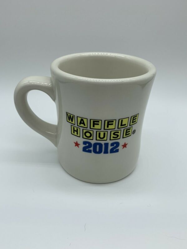 Waffle House America The Beautiful Coffee Cup Mug 2012 Tuxton Restaurant Ware