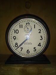 Vintage Big Ben Westclox Style 4a Loud Alarm Clock 1935-1939