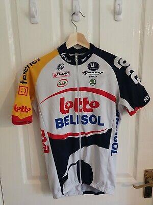 Vermarc Lotto Belisol Cycling Jersey Medium