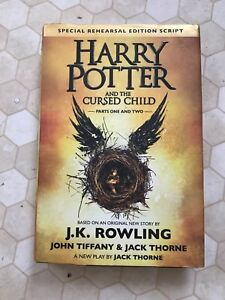 Harry Potter and the cursed child script by JK rowling