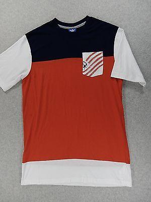 USA Soccer 1996 Atlanta Olympics Cotton Soccer Pocket Crew Shirt (Adult Small) image