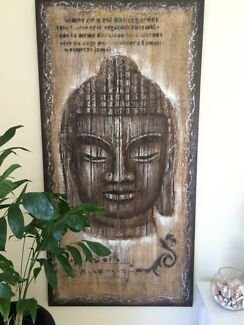 Large budda art  Rowes Bay Townsville City Preview