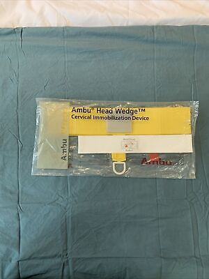 Ambu Head Wedge 000264034 Disposable Head Cervical Immobilizer New