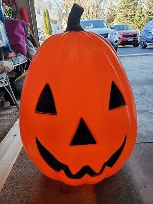 "Vintage Empire Halloween Pumpkin Blow Mold Jackolantern 28"""