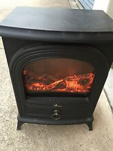 HEATER ELECTRIC REALISTIC WOOD FIRE LOOK ELECTRIC HEATER Minyama Maroochydore Area Preview
