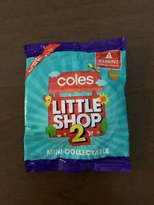 Selling Coles Little Shop 2 UNOPENED Packs