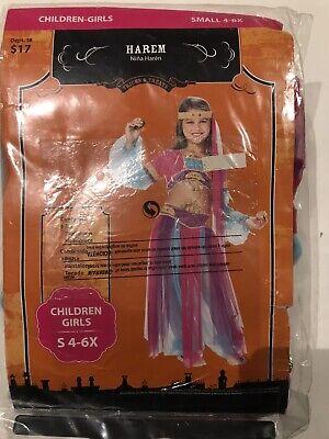 halloween customs for girls Harem Size 4/6X