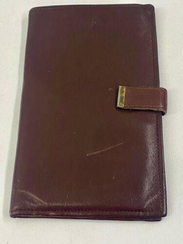 Vintage Retro English Brown Soft Glove Leather Travel Wallet