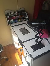 Nail table and accessories Lambton Newcastle Area Preview