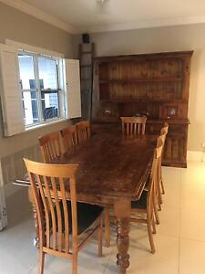 DINING SETTING, LARGE DRESSER, COFFEE TABLES Mitcham Mitcham Area Preview