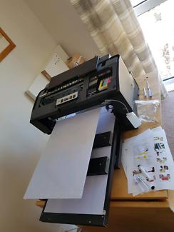 DTG Printer+ Heat press + ink