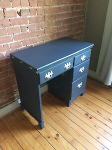 Coiffeuse vintage / vintage dressing-sewing table