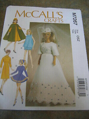 McCalls 7267 NEW SEW pattern 11 1/2