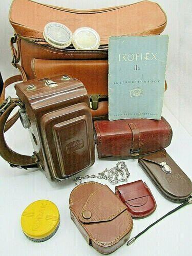 Zeiss Ikon Ikoflex IIa Camera & Filters, Lens Meter & Extras