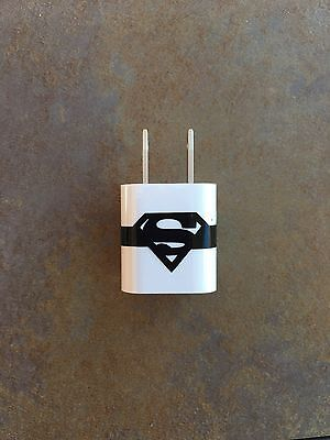 SUPERMAN CHARGER WRAP IPHONE IPAD IPOD VINYL DECAL STICKER
