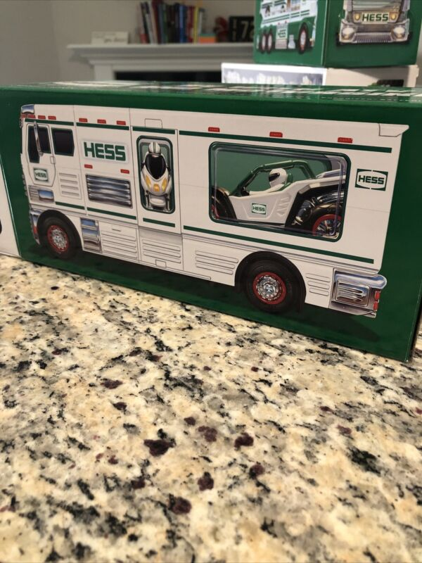 2018 HESS RV WITH ATV AND MOTORBIKE N.I.B.