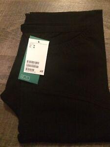 2 pairs black H & M maternity leggings