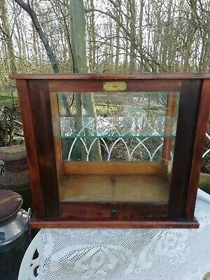 Antique Wooden Scientific Instruments Cabinet George Becker Nivoc Circa 1940's