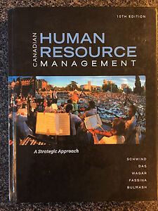 Canadian Human Resource Management 10th edition Textbook