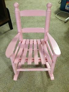 Pink kids rocking chair for sale