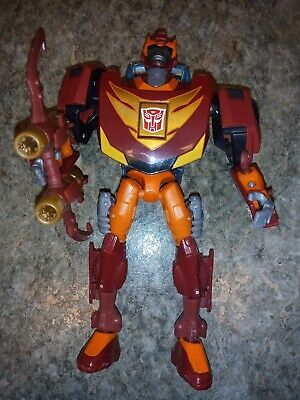 TRANSFORMERS Animated HOT ROD 100% complete hotrod rodimus prime 2008 series