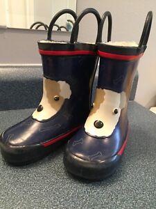 Rain boots toddler size 5 (Joe Fresh)