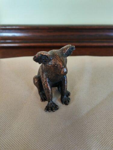 Vintage Bronze Miniature Koala