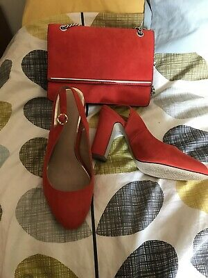 Newlook Matching Bag And Shoes Size 6
