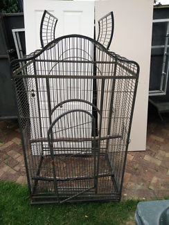 Extra large heavy duty parrot cage