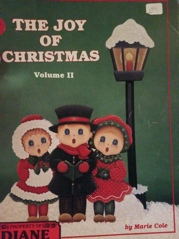 DECORATIVE TOLE PAINTING PATTERN BOOK THE JOY OF CHRISTMAS VOLUME 2