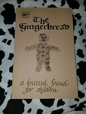 Cottage Creations: The Gingerbread a knitted friend for -