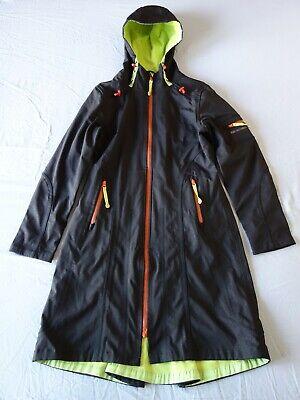 ilse jacobsen hornbaek womens softshell raincoat long parka 40 jacket