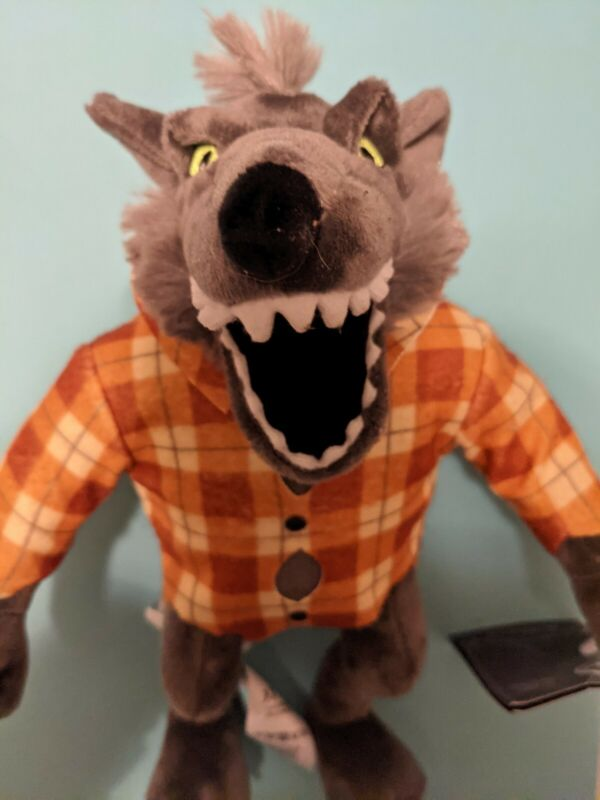 Disney Parks Nightmare Before Christmas Wolfman 11in Plush Doll New w Tags