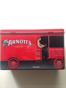 Collectible Arnotts Biscuit Tin Knoxfield Knox Area Preview