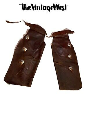 Pink, Small Equitem Childrens Suede Leather Western Chaps and Vest Set 2-4