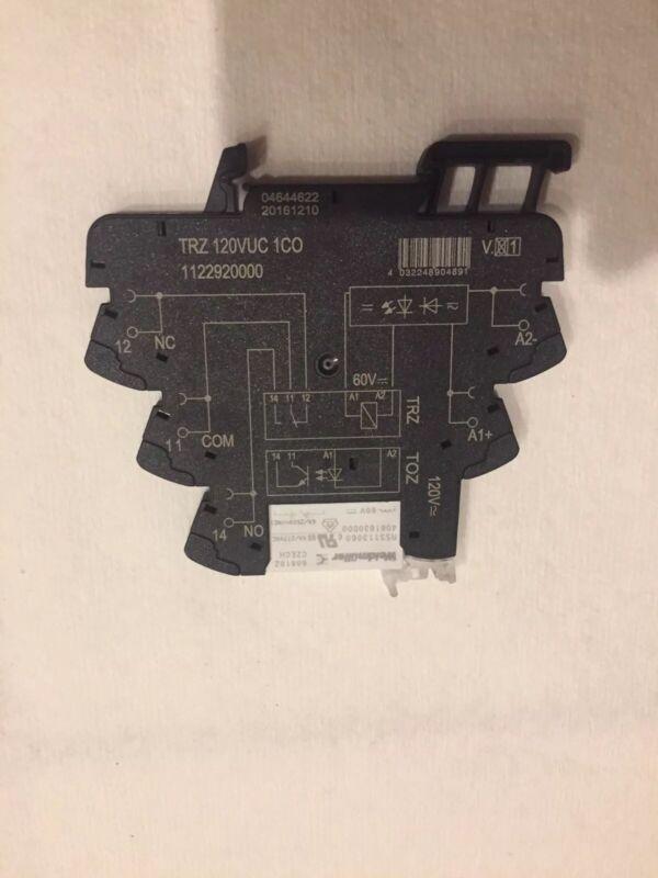Weidmuller Relay Module TRZ 120VUC 1 CO 1122920000