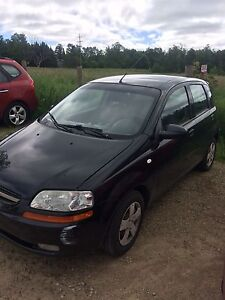 For parts 2004 Chet Aveo