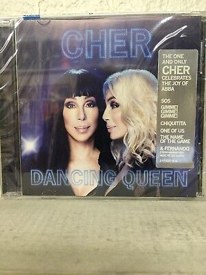 Cher - Dancing Queen CD 2018 - Song List Below - Brand New! Abba Songs