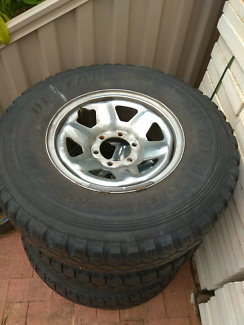 """Land cruiser 16"""" wheels, rims and tyres"""