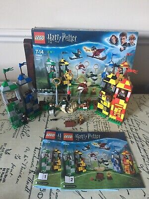 Lego Harry Potter Quidditch Match 75956 - Complete With Box & Instruction Set