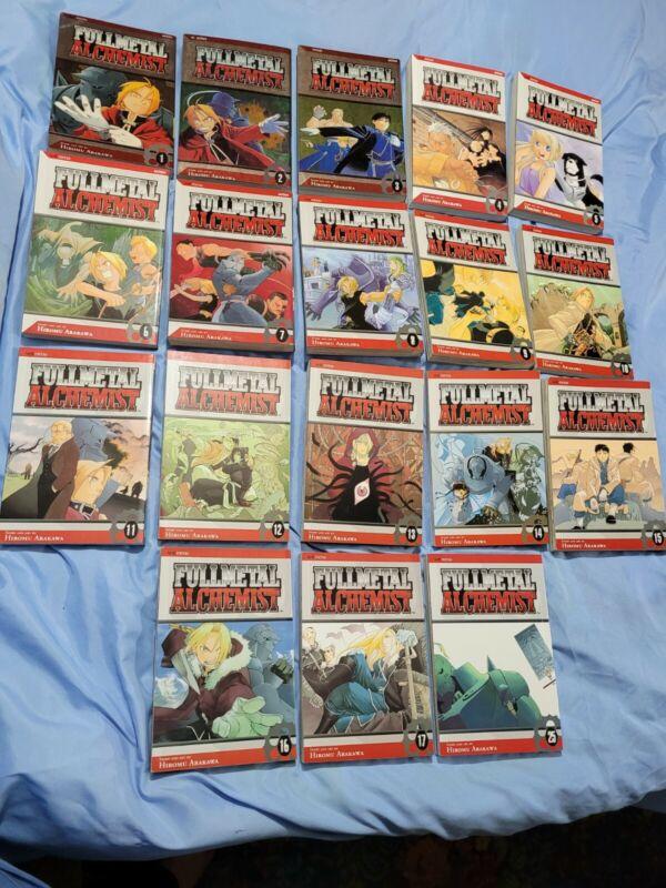 fullmetal alchemist manga Vol. 1-17, 25