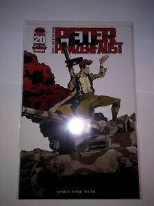 Peter Panzerfaust 1 1st Print NM! Ready for CGC Grading! Image Wiebe Jenkins