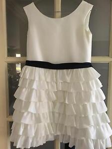 Silk white dress size 10-12 Bertram Kwinana Area Preview