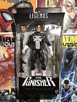 "Marvel Legends The Punisher - Sealed 6"" Walgreens Exclusive 2015"