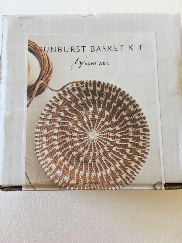 Anne Weil Sunburst Basket Kit